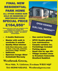 Westbrook Green Limited Advert
