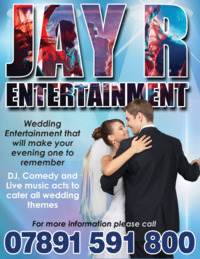 Jay R Entertainment Advert