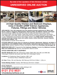 Deeley Matthews Auctioneers Advert