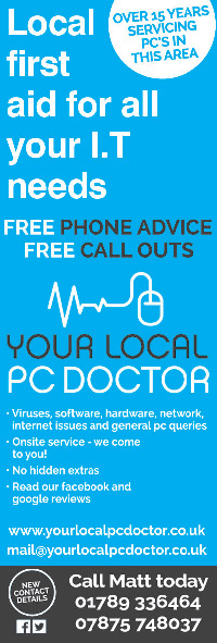 Your Local PC Doctor Ltd Advert