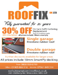 Rooffix Advert