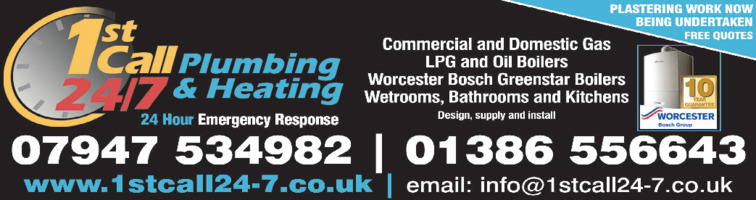 1st Call 24-7 Ltd Advert