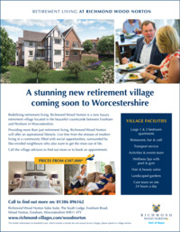 Richmond Villages Advert