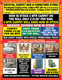 Crystal Carpets Ltd Advert