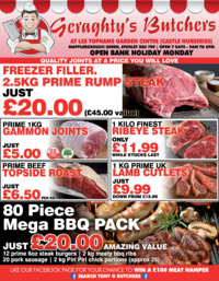 Hollywood Meats Ltd Advert