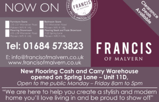 Francis Of Malvern Ltd Advert