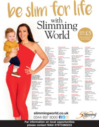 Nicki Poole Slimming World Advert