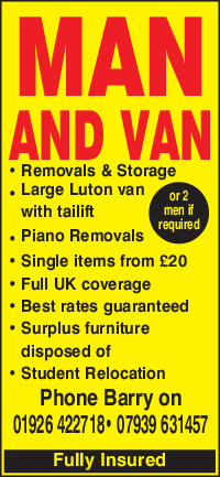 Heathcote Removals Advert